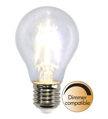 LED-lampa E27 A60 Clear