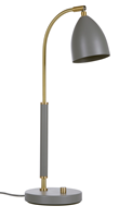 Deluxe bordslampa LED, varmgrå/mässing 50,7cm
