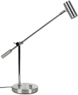 Cato bordslampa LED, aluminium 48,4cm