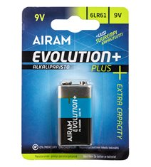 Batteri Evolution plus, LR61 9V