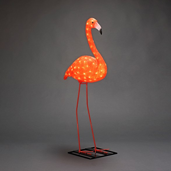 Flamingo LED, akryl 110cm