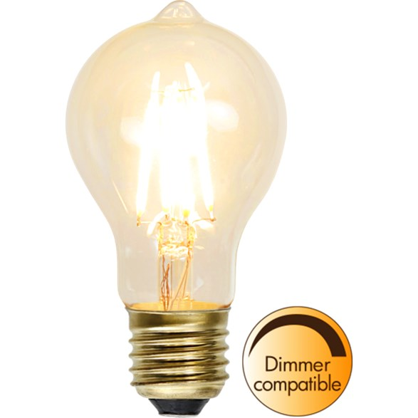 Filament-LED normal 1,3W(15W) E27, soft glow dimbar
