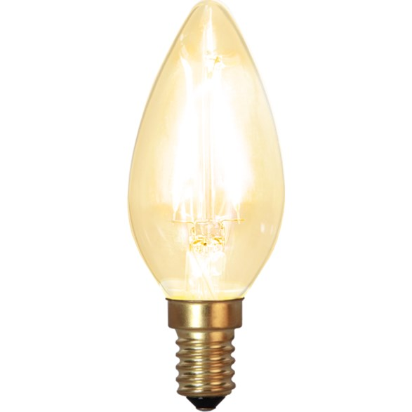 Filament-LED kron 1,5W(15W) E14, soft glow