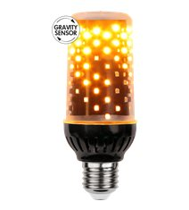 Flame-lamp LED 1,8-2,6W E27, gravitationssensor