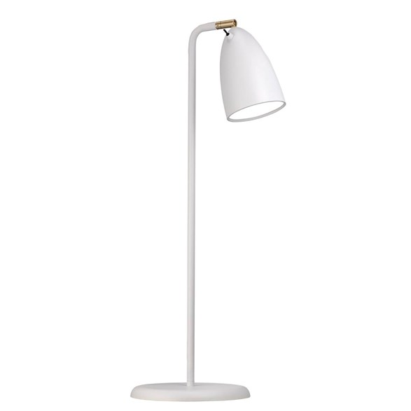 Nexus 10 bordslampa LED, vit 63cm