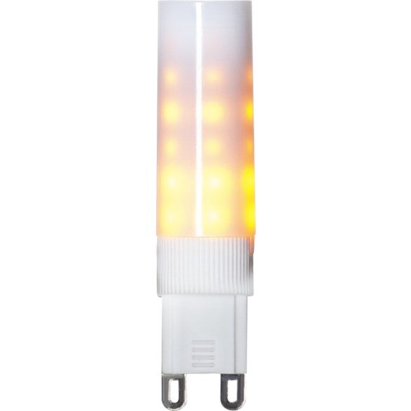 LED lampa G9 flame 0,6 1,4W Stockholms bästa lampaffär