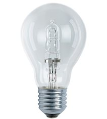 Halogen normal klar E27, 42W(60W)
