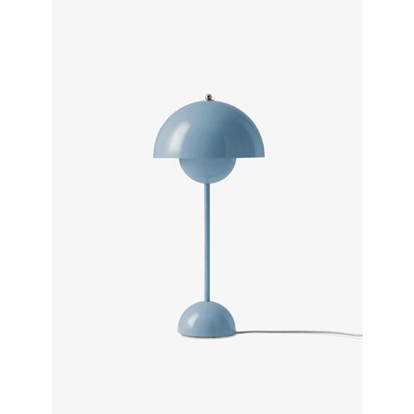 Flowerpot VP3 bordslampa, ljusblå 50cm Stockholms bästa