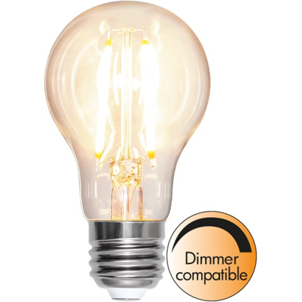 Filament-LED normal 8W(72W) E27, soft glow dimbar