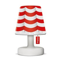 Fatboy cooper cappie skärm, stripe curtain red