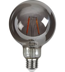 LED-lampa E27 G95 Plain Smoke