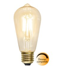 LED-lampa E27 ST58 Soft Glow